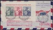 1,- DM 1949 Bizone Exportmesse Hannover au...