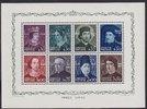 15 Esc. 1949 Portugal Dynastie Avis Block ...