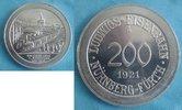 200 Pfg. 1921 Deutsches Reich Nürnberg Lud...