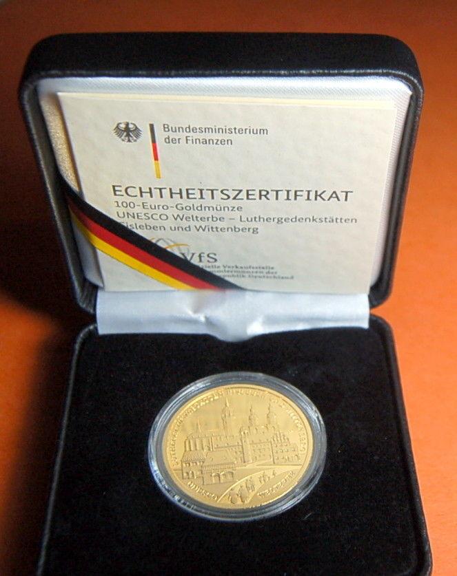 100 Euro 2017 Deutschland 100 Euro Luthergedenkstätten 2017 F Bu