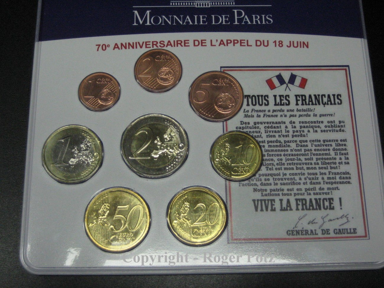 388 Euro 2010 Frankreich 388 Euro Miniset Kms 2010 De Gaulle 70