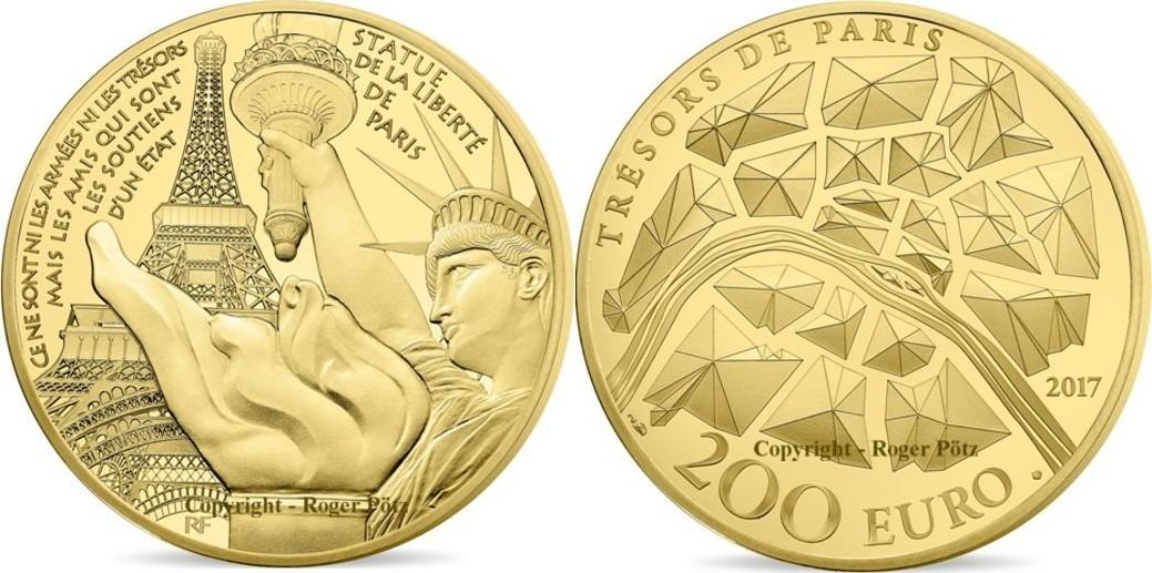200 Euro 2017 Frankreich 200 Euro 2017 Statue Of Liberty Grenelle 1