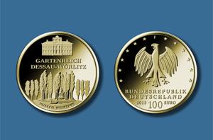 100 Euro 2013 Deutschland 100 Euro Gold 2013 Unesco Dessau