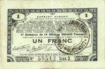 23.4.1915 FRANZÖSISCHE NOTSCHEINE Pas de ...