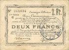22.5.1916 FRANZÖSISCHE NOTSCHEINE Douai e...