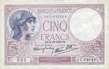 5.10.1939 BANKNOTEN DER BANQUE DE FRANCE ...