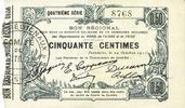 1915-10-24 FRANZÖSISCHE NOTSCHEINE Fourmi...