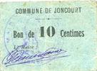 FRANZÖSISCHE NOTSCHEINE Joncourt (02). C...