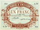 12.3.1915 FRANZÖSISCHE NOTSCHEINE Lille (...