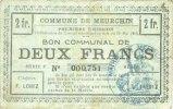 10.5.1915 FRANZÖSISCHE NOTSCHEINE Meurchi...