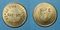 FRENCH EMERGENCY COINS Castres (81). Au Printemps - Ch. Desplats. 5 c... 18,00 EUR  +  7,00 EUR shipping