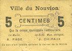 FRANZÖSISCHE NOTSCHEINE Le Nouvion (02)....