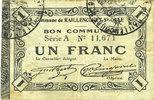 1915-12-16 FRANZÖSISCHE NOTSCHEINE Raille...