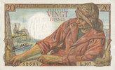 10.2.1944 BANKNOTEN DER BANQUE DE FRANCE ...