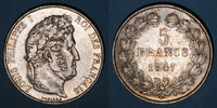 1847 A FRENCH MODERN COINS Louis Philippe (1830-1848). 5 francs 1847A ... 175,00 EUR  +  7,00 EUR shipping