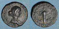 RÖMISCHE PROVINZIALPRÄGUNGEN  Faustine jeune, épouse de Marc Aurèle. Bronze. Neapolis (Naplouse, Samarie), an