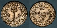 1815 BB FRANZÖSISCHE MODERNE MÜNZEN 2e Re...