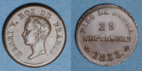 1833 FRANZÖSISCHE MODERNE MÜNZEN Henri V,...