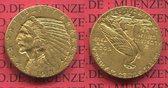5 Dollars Dollar Half eagle 1913 USA Indian Head Indianerkopf vz
