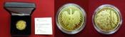 100 Euro Goldmünze 2016 A BRD Bundesrepublik Deutschland, FRG, Germany Unesco Welterbe- Altstadt Regensburg mit Stadtamhof Stempelglanz mit Zertifikat und Box