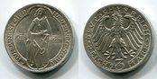 3 Mark 1928 Weimarer Republik Deutsches Reich Naumburg 1028 1928 f. stgl. leichte Tönung