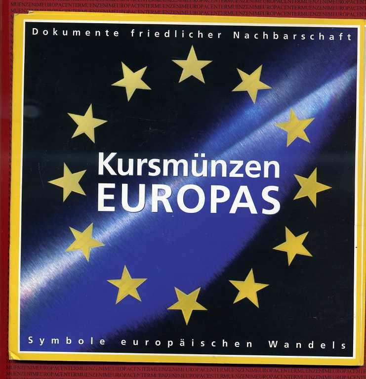 15 Kursmünzen Im Blister Versch Kursmünzen Europas Europa 15 Münzen