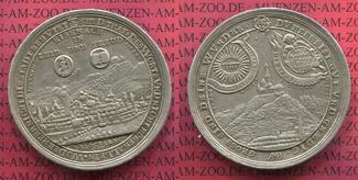 Silbermedaille 1717 SACHSEN-WEIMAR,HERZOGTUM, - NEUES HAUS 200-Jahrfeier der Reformation Eisenach und die Wartburg Johann Wilhelm 1698-1729 ss - vz