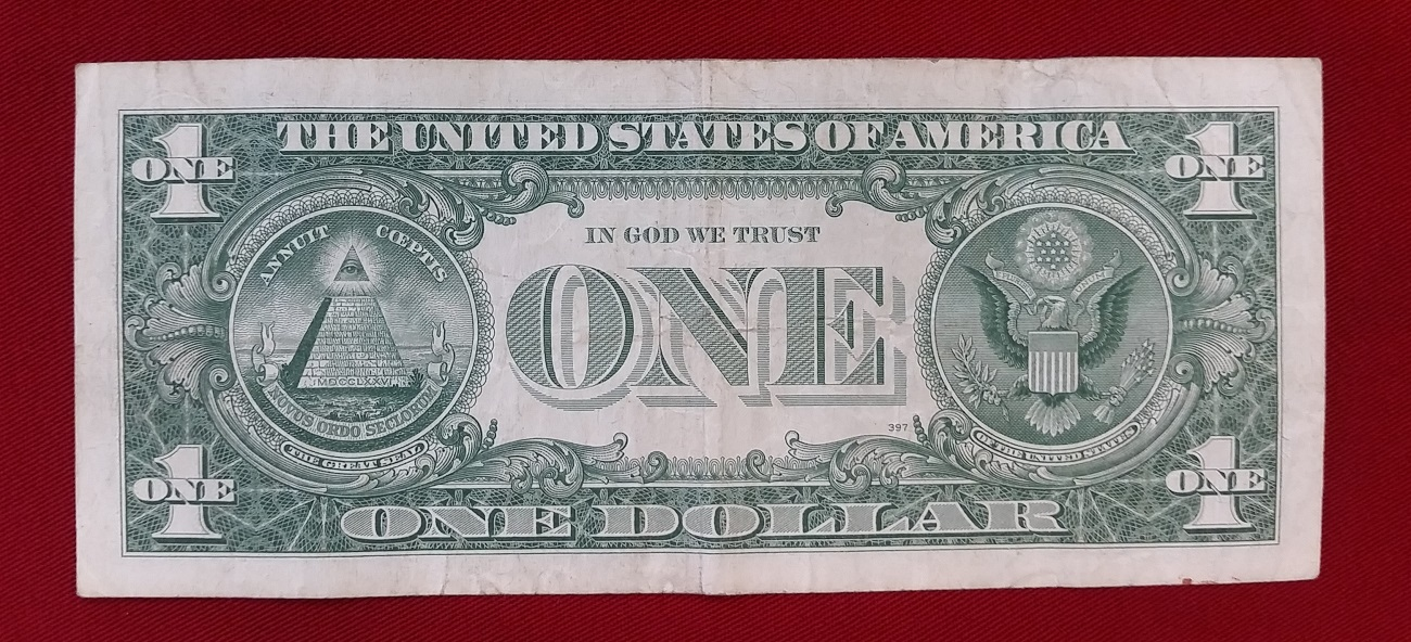 1 Dollar 1957 A USA Silver Certificate III | MA-Shops