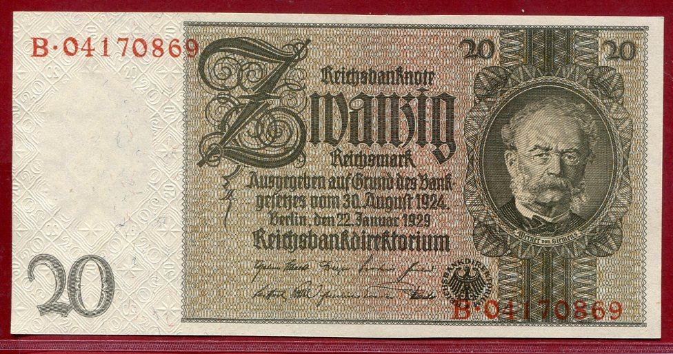 20 Mark Reichsbanknote 1907