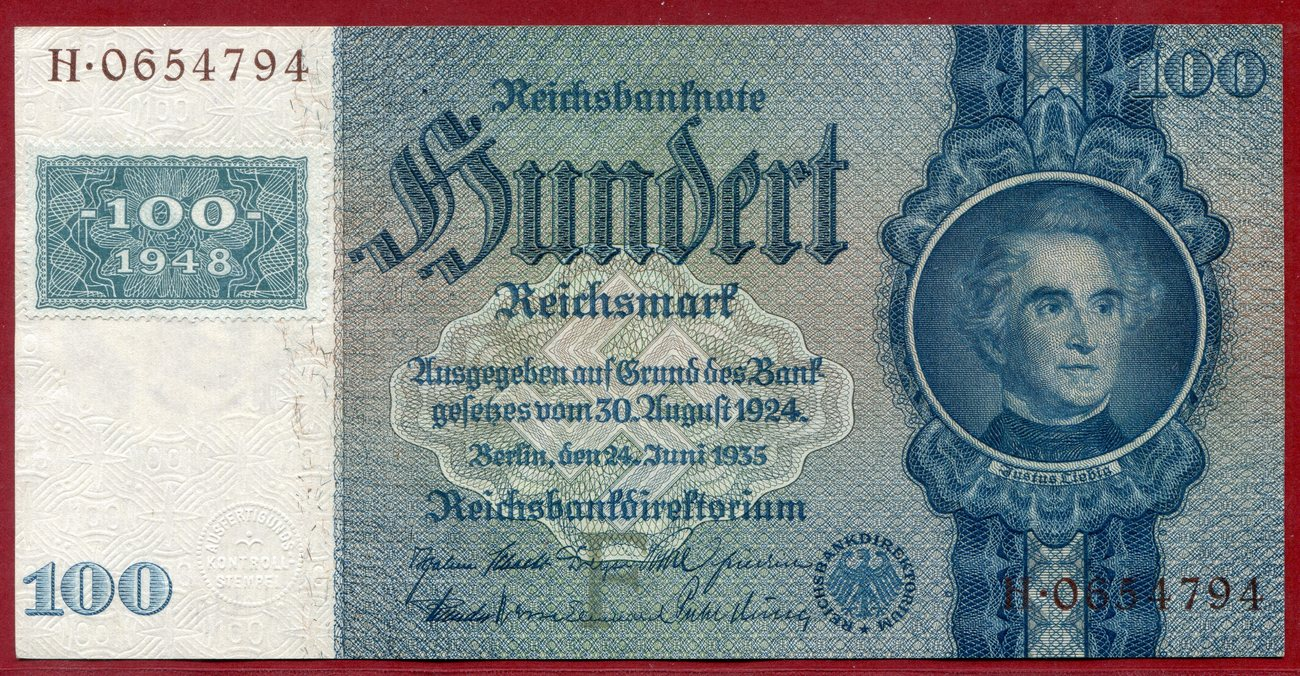 Germany  DDR 20   Mark 1948 B235