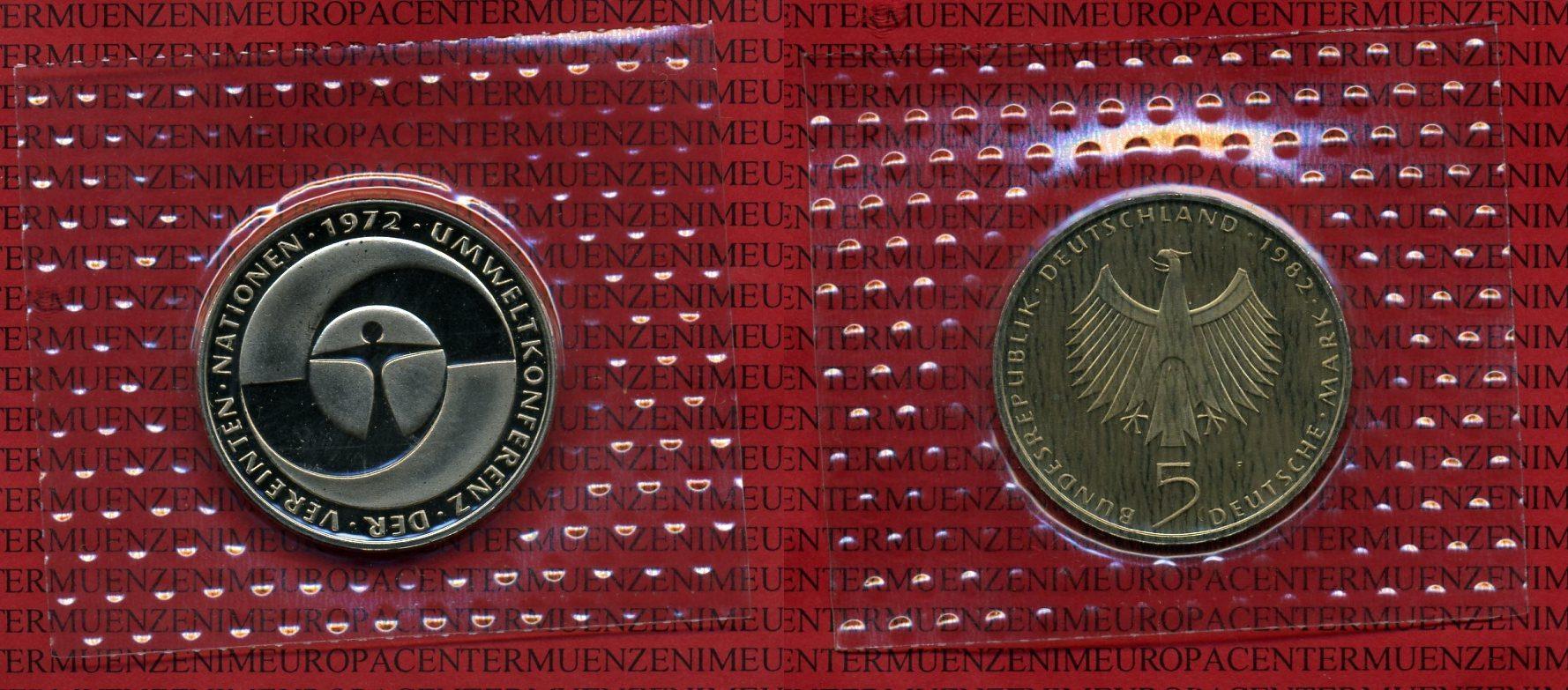 5 Dm Gedenkmünze Cuni 1982 Bundesrepublik Deutschland