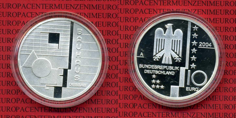 10 Euro Gedenkmünze Silber 2004 Bundesrepublik Deutschland