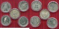Die Ersten fünf 5 DM Gedenkmünzen 1952-196...