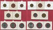 Kursmünzensatz mit Silberadler u Planck 19...