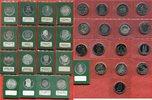 Bundesrepublik Deutschland 33 x 5 DM Gedenkmünzen Silber / Cu/Ni Lot 33 x 5 DM Gedenkmünzen sowohl Silber als auch Ku/Ni