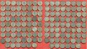 Lot 70 x 1 Mark Silbermünzen Div. Kaiserre...
