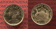 Chile 20 Pesos 2 Condores Goldmünze Chile 20 Pesos, 2 Condores, 1959 Goldmünze