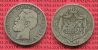 5 Lei Silber 1882 Rumänien Romania Rumänien 5 Lei Silber 1882 Carol. I.... 90,00 EUR  +  8,50 EUR shipping