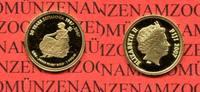1 Dollar Minigoldmünze 2007 Fidschi Inseln...