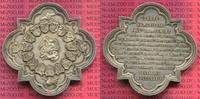 Silber plakette Silver Medal 1874 Brüssel ...