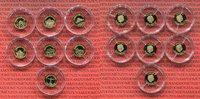 7 x 10 Dollar Minigoldmünzen 2012 Fidschi Inseln, Fiji Fiji 7 x 10 Doll... 199,00 EUR  +  8,50 EUR shipping