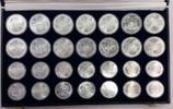 28 Münzen ca. 944 g Fein 1976 Kanada Kanada 14 x 5, 14 x 10 Dollars Oly... 640.48 US$ 589,00 EUR  +  27.19 US$ shipping