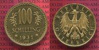 100 Schilling Gold 1931 Österreich, Austri...
