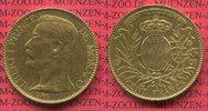 100 Francs Gold Kursmünze 1901 Monaco Mona...