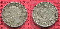 2 Mark Silbermünze 1901 Baden, Kaiserreich Baden 2 Mark 1901 Silber Gro... 175,00 EUR  +  8,50 EUR shipping