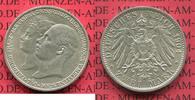 2 Mark 1904 Mecklenburg Schwerin Mecklenburg Schwerin, 2 Mark 1904, Hoc... 95,00 EUR  +  8,50 EUR shipping
