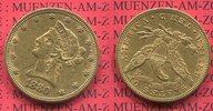 10 Dollars Liberty Frauenkopf Eagle 1880 U...