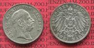 2 Mark Silber Gedenkmünze 1904 Sachsen, Saxony German Empire Sachsen 2 ... 75,00 EUR  +  8,50 EUR shipping