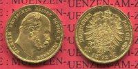 10 Mark Goldmünze Kursmünze 1872 A Preußen...