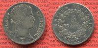 5 Francs 1812 W Frankreich Frankreich 5 Francs 1812 W Napoleon I. ss+  135,00 EUR  +  8,50 EUR shipping